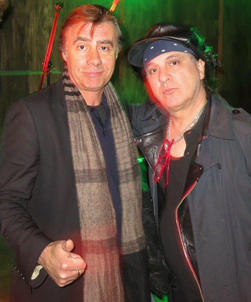Glen Matlock and Sylvain Sylvain on tour together in 2014