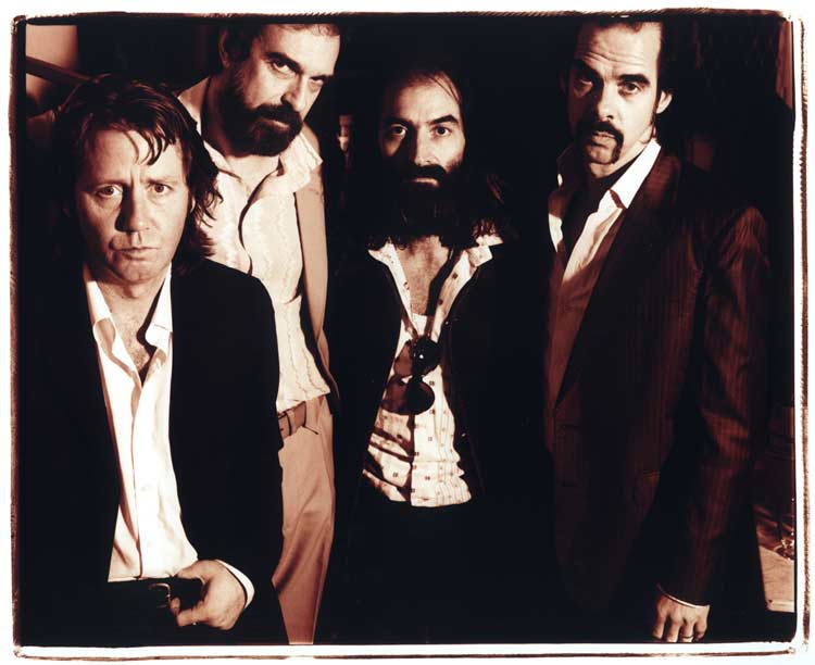 Grinderman photo by Steve Gullick