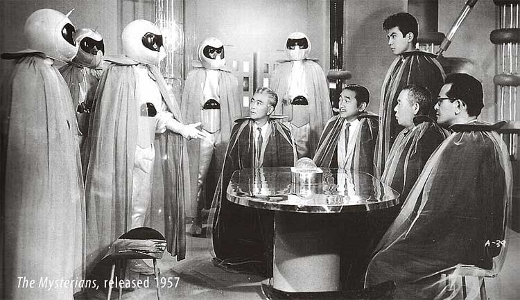 "Still from the film ""The Mysterians"" 1957"