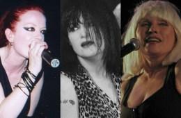 Shirley Manson, Debbie Harry & Exene Cervenka