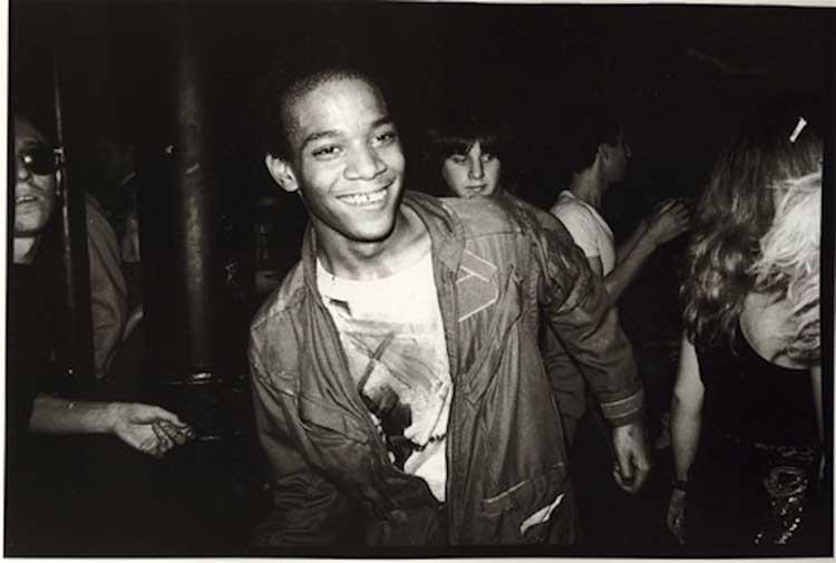 Basquiat-Mudd-Dance-Floor-'80-photo © Nick-Taylor