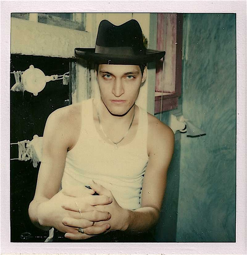 Vincent-Gallo- Polaroid © by Rhonda Paster-Corte