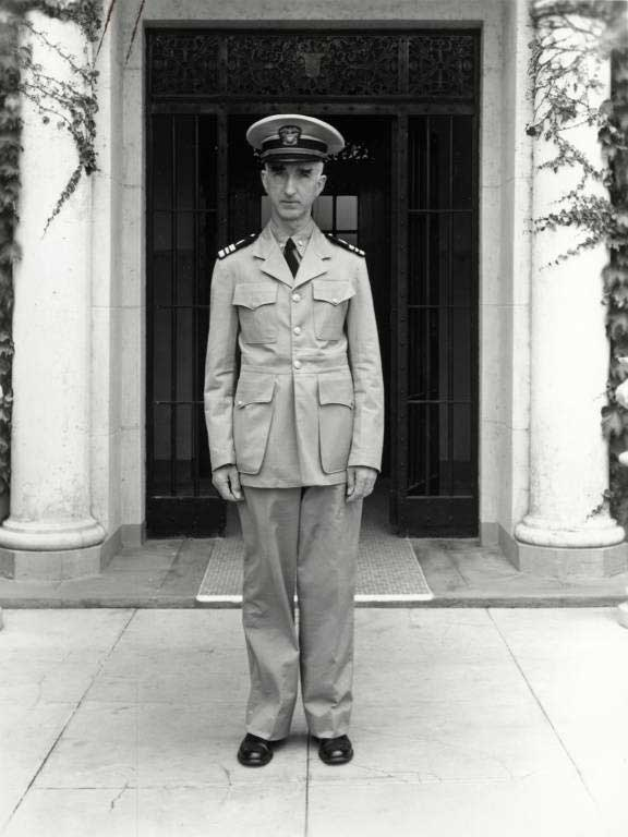 Dr. Leo Stanley in his uniform - from Marin County Free Library collection