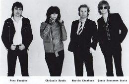The Pretenders-Sire Records 1979 Promo photo