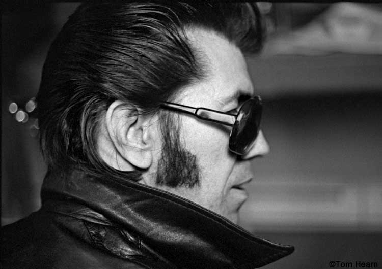 Link Wray 1978 - photo by Tom Hearn