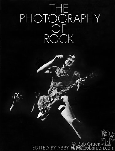 "Book cover for ""The Photography Of Rock"" © Bob Gruen / www.bobgruen.com"