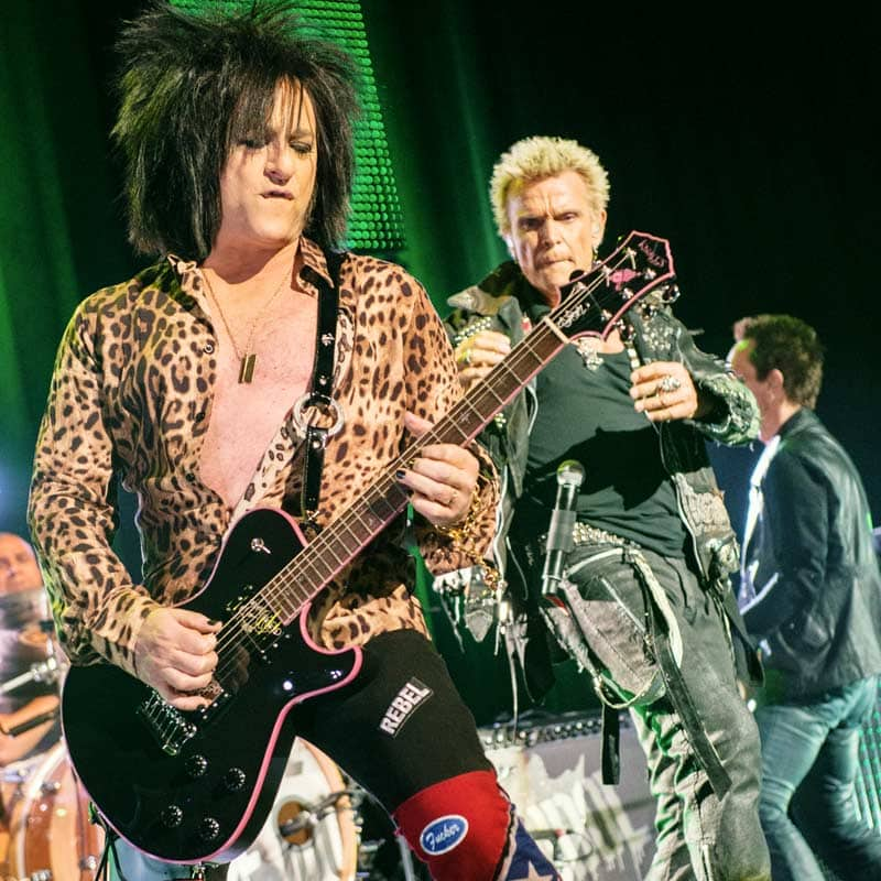 Steve Stevens & Billy Idol - Photo by Josie Stevens