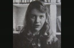 Sylvia Plath in Cambridge, England, 1956
