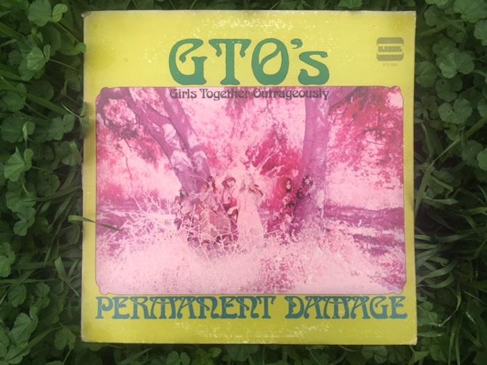 GTO album cover by Andee Cohen. Photo by Lucretia Tye Jasmine