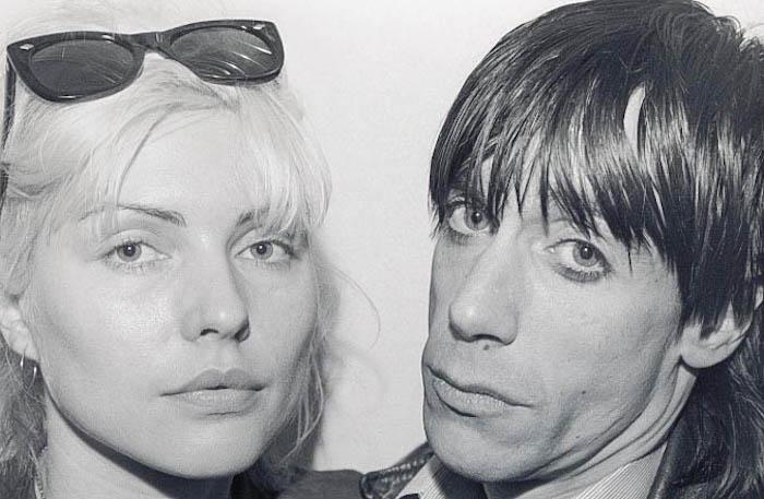 Debbie Harry & Iggy Pop - Photo by Chris Stein