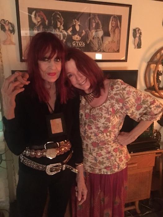 Miss Mercy and Pamela Des Barres