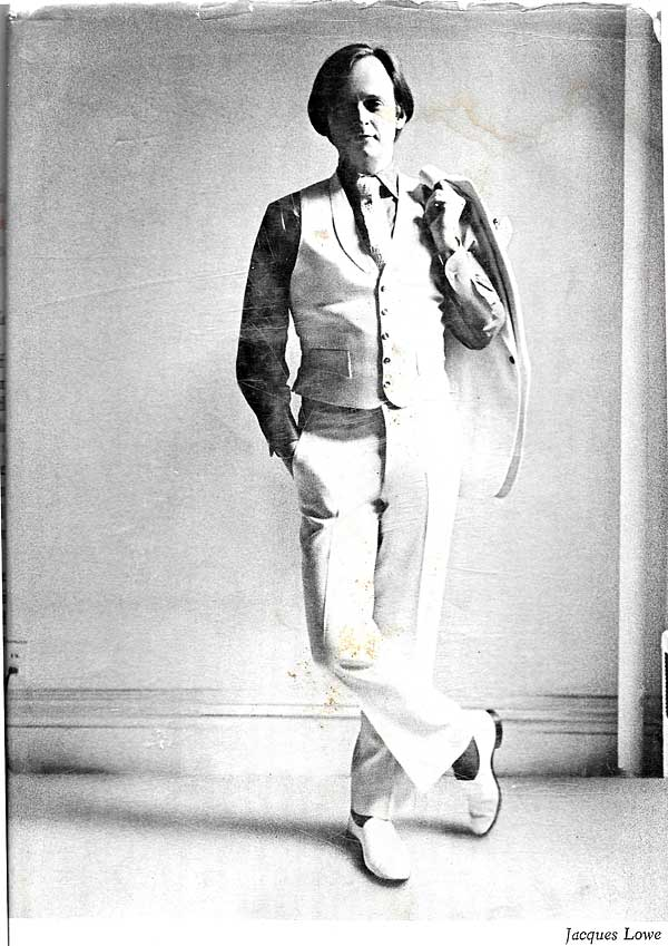 Tom Wolfe - Dust jacket author's photo from the first edition of The Electric Kool-Aid Acid Test. Photo was taken by Jacques Lowe