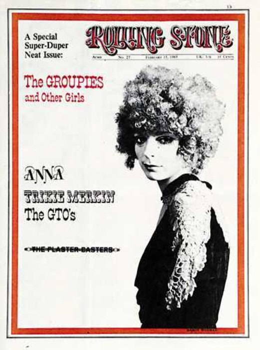 Rolling Stone cover - Groupies issue