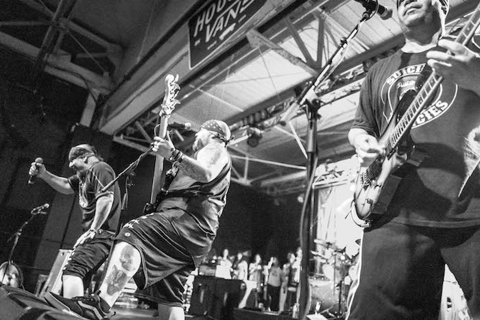 Suicidal Tendecies performing at House Of Vans in Brooklyn. Photo by Rick Casados