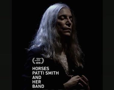 Patti Smith Horses movie poster