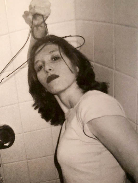 Patty in a Florida hotel room, 1995 - photo by Melissa Auf Der Maur