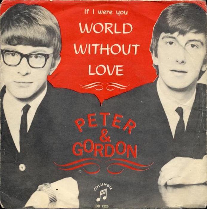 Peter & Gordon 'World Without Love' single