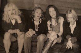"The ""Violet"" video shoot, L.A. 1995 Photo: Melissa Auf Der Maur"
