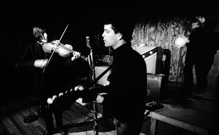 The Velvet Underground at the Cafe Bizarre, 1965 by Adam Ritchie