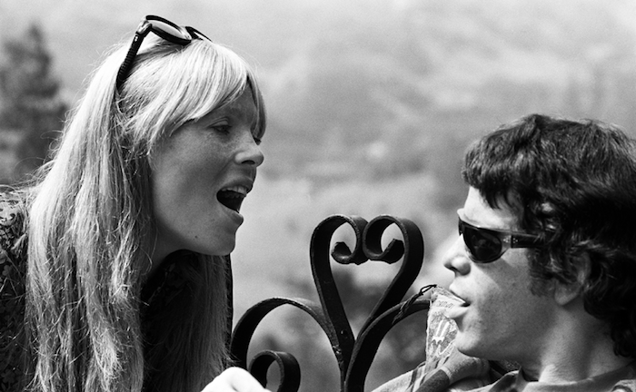 Nico & Lou at the Castle, Los Angeles, 1966 by Lisa Law