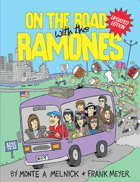 On The Road with the Ramones - book