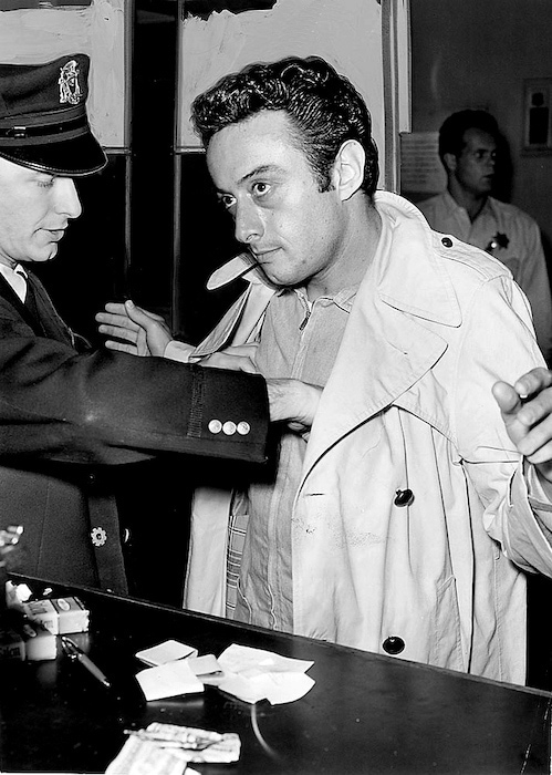 Lenny Bruce arrested for obscenity
