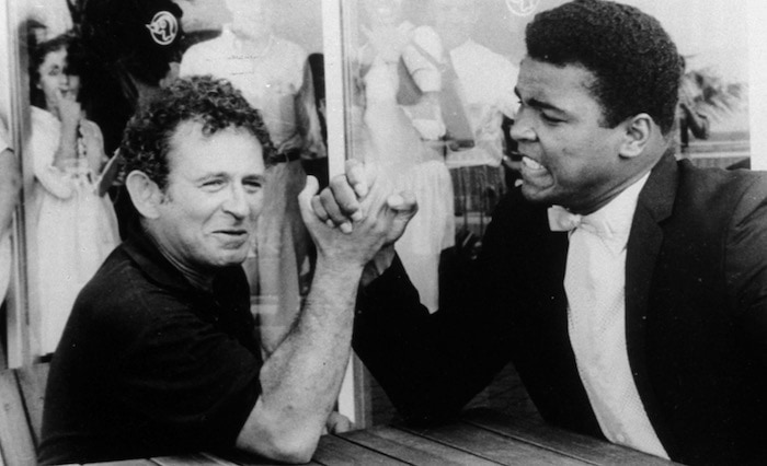 Norman Mailer and Muhammad Ali