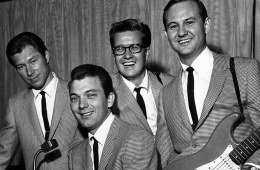Sonny Curtis(far right) and The Crickets