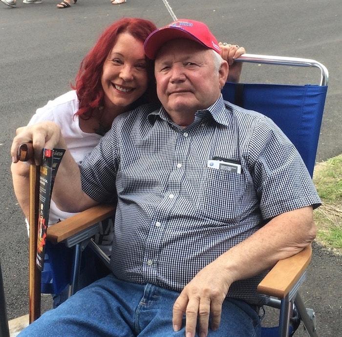Pamela Des Barre and Marcus Winslow