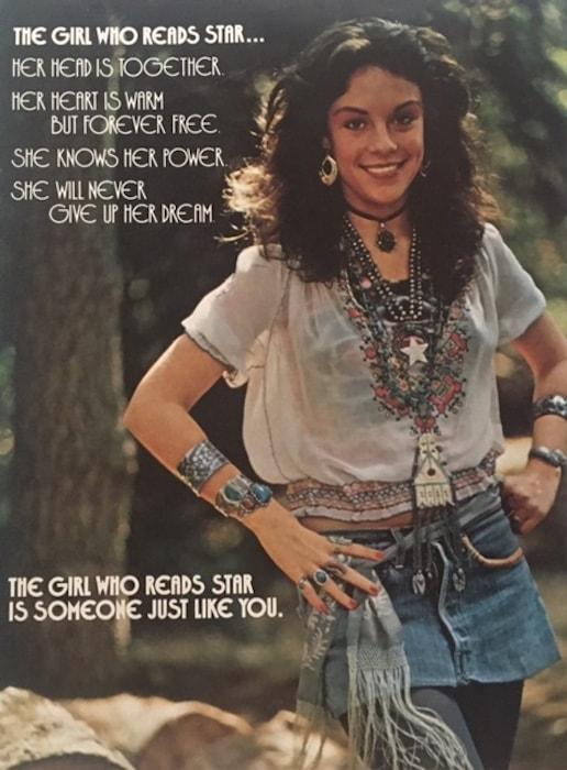 Star inside cover from February 1973