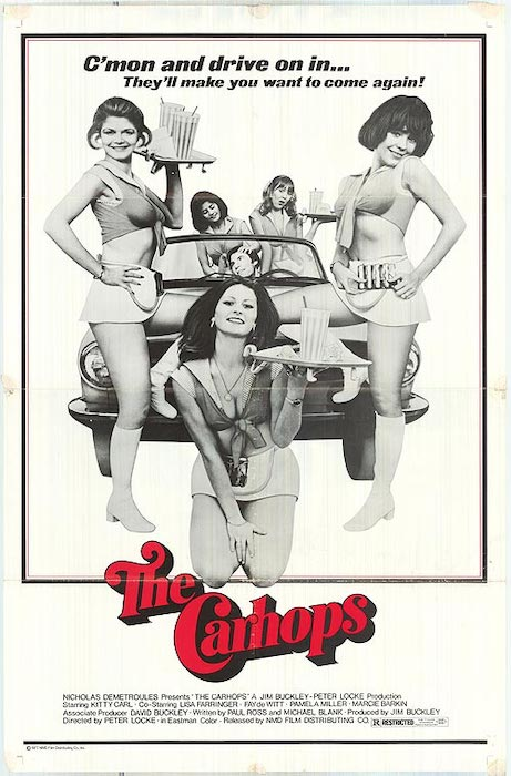 The Carhops movie poster 1975