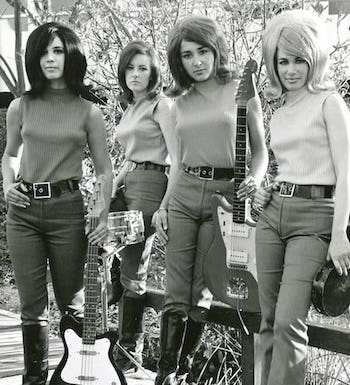 60s Female Rock Bands