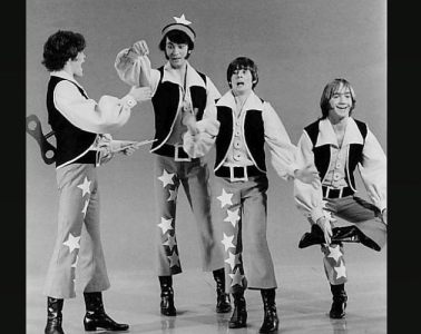 The Monkees during a television special in 1969