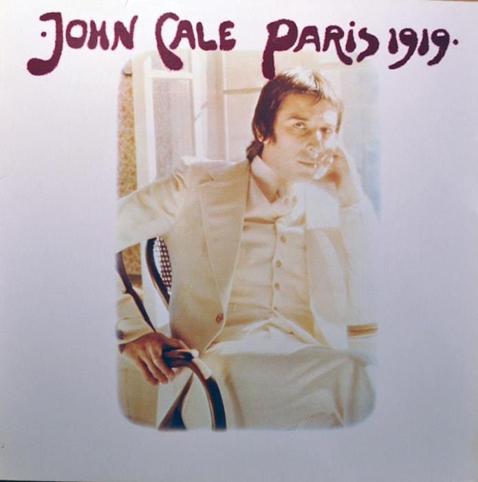John Cale Paris 1919 album cover, released 1973