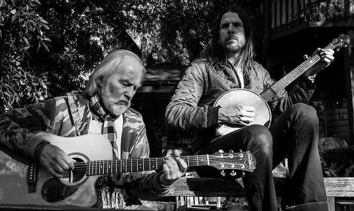 Jonathan Wilson and Roy Harper