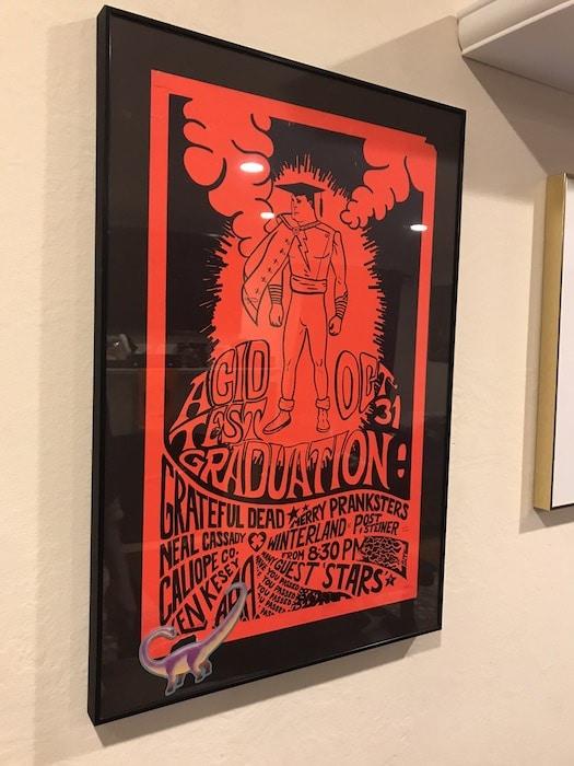 Acid Test Graduation poster - designed by Gut Terk