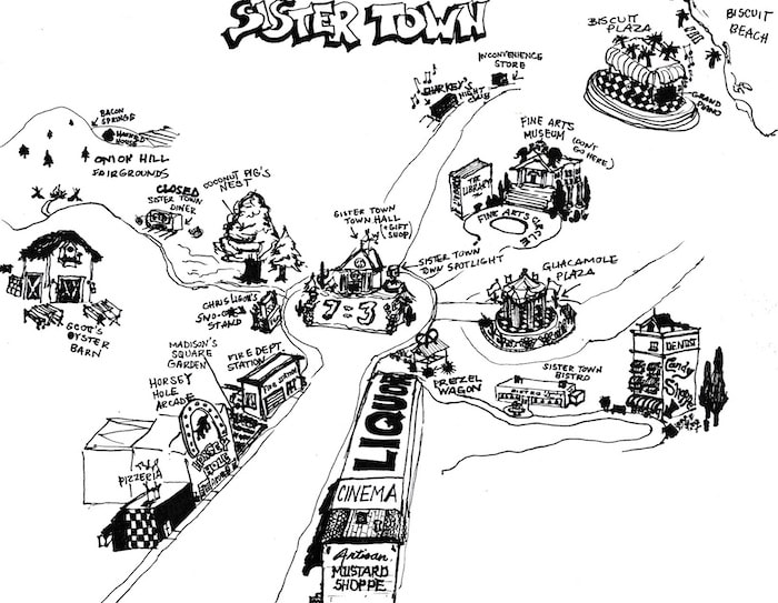 Sister Town Map