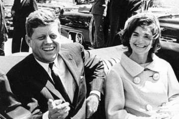President John F. Kennedy and Jaqueline Kennedy