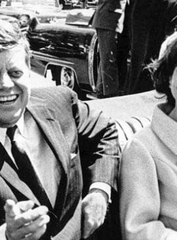 President John F. Kennedy and Jaqueline Kennedy