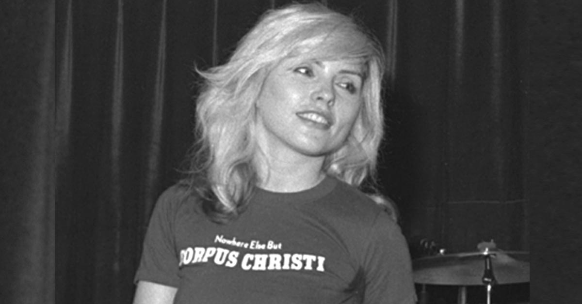 FACE IT: DEBBIE HARRY HAS HAD A HAPPY AND LUCKY LIFE