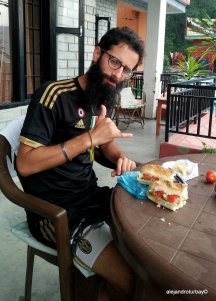 Giaco taking care of me as usual with his amazing sandwiches