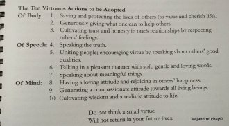 An example of why I like Buddhism