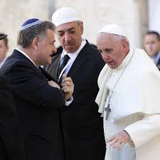 Christian, Muslim and Jewish head covers worn by religious