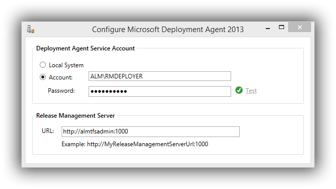 release-management-deployment-agent-configuration