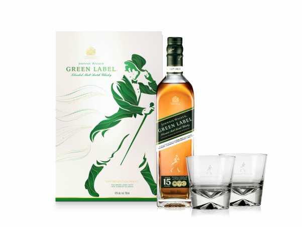 Johnnie Walker Green Label coffret fin année