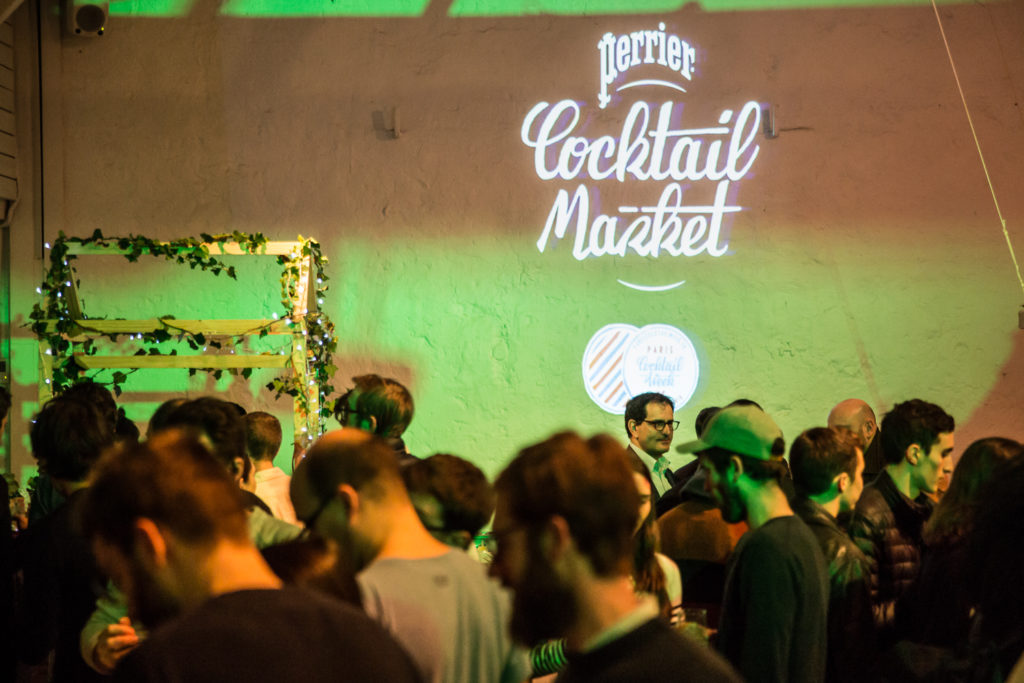 Paris Cocktail Week Perrier Cocktail Market