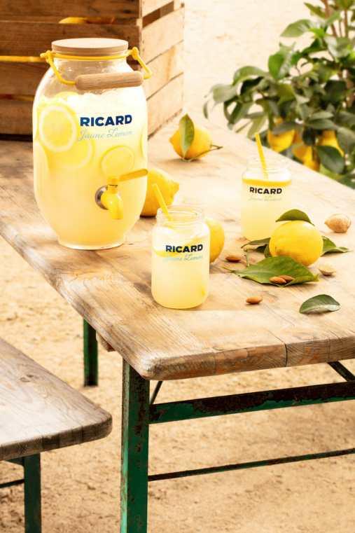 Ricard Jaune Lemon