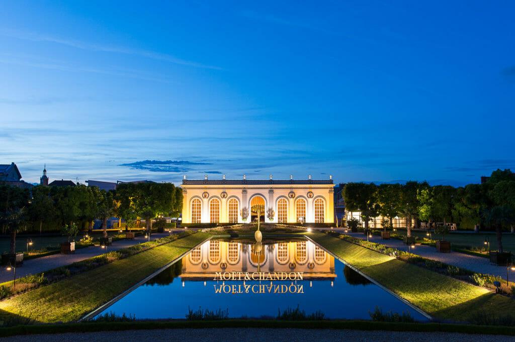 Moët & Chandon Orangerie in Epernay