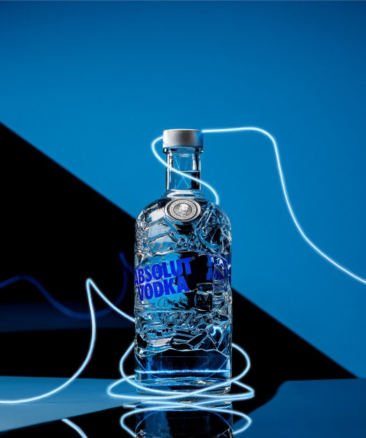 Absolut vodka recycled