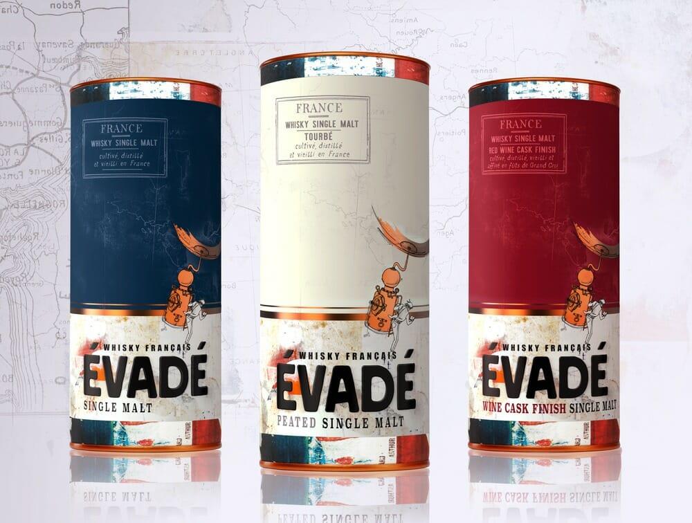 Evadé Les Whiskies du Monde